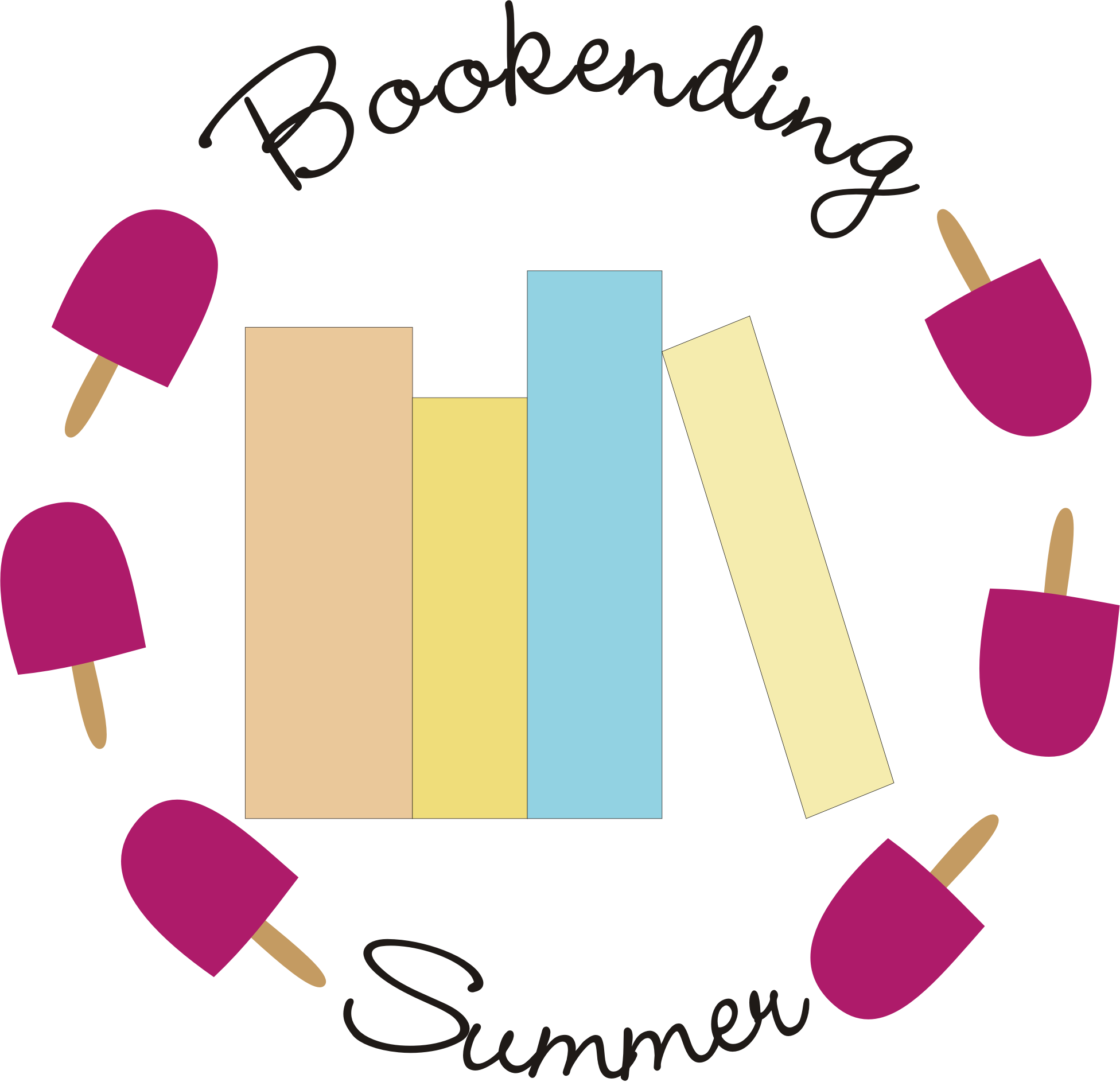 Bookending Summer logo